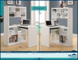 I 7022 - WHITE HOLLOW-CORE RIGHT OR LEFT FACING CORNER DESK BY MONARCH SPECIALTIES INC