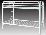 VENUS - TWIN / TWIN METAL BUNK BED FRAME - WHITE