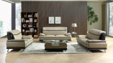 SASHA - 3PC SOFA, LOVESEAT & CHAIR IN BEIGE/BROWN