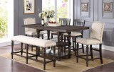 "SONOMA 78"" TALL TABLE ONLY WITH 18"" BUTTERFLY LEAF BY WINNERS ONLY"