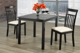 T-3105 - Table and 2 Chairs Dining Set in Cappuccino Finish by Titus Furniture