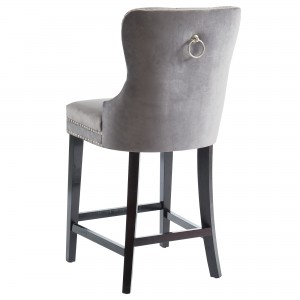 Rizzo 26'' Counter Stool in Grey by Worldwide Homefurnishings Inc
