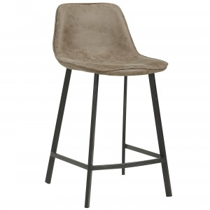 "Buren 26"" Counter Stool in Vintage Brown"