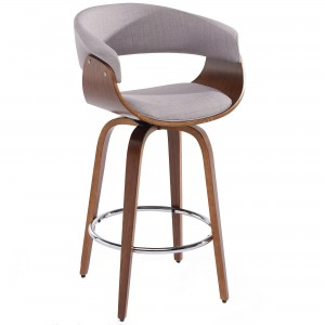 "Holt 26"" Counter Stool in Grey"