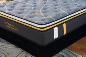 "Celebration - 12"" Double Euro Pillow Top Mattress in a Box  in Queen"