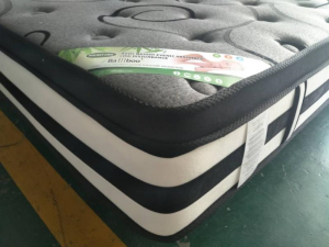Platinum Euro - Euro Pillow Top with Natural Latex Twin Mattress in a Box
