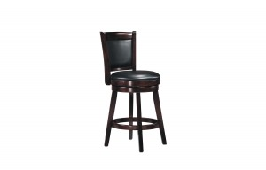 "PORTER 24"" UPHOLSTERED BACK STOOL BY WINNERS ONLY"
