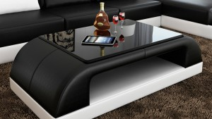 RC09 COFFEE TABLE IN BLACK AND WHITE